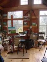 Inside the studio of Carlton Manzano plein air artist