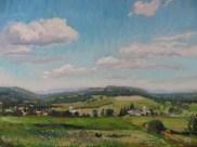 """Hart Hill, Dryden, 16"""" x 20"""", SOLD"""