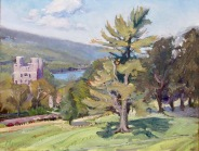 "Libe Slope, Cornell University Campus, 16"" x 20"""